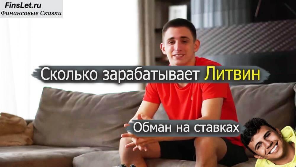Сколько зарабатывает Литвин в месяц